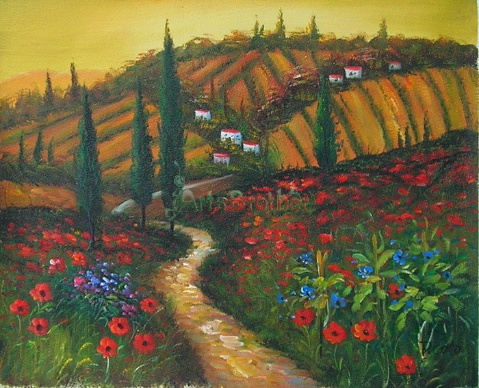 100% Handmade Museum Quality Landscape Paintings
